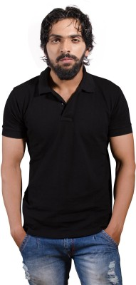 One11 Solid Men,s, Women's Polo Neck T-Shirt