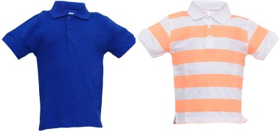 Most Wanted Printed Boy's Polo Neck Multicolor T-Shirt