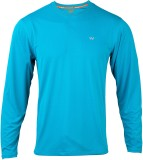 Wildcraft Solid Men's Round Neck Blue T-...