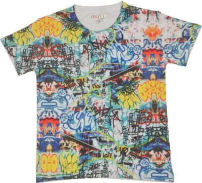 NOQNOQ Graphic Print Boy's Round Neck T-Shirt