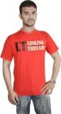 Linking Threads Solid Men's Round Neck R...