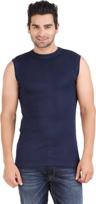 Zippy Striped Men's Round Neck Dark Blue T-Shirt