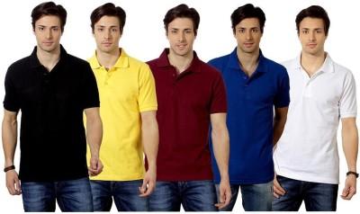 Top Notch Solid Men's Polo Multicolor T-Shirt
