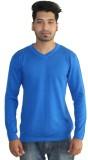 Addit Solid Men's V-neck T-Shirt