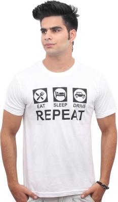 Jazzmyride Graphic Print Men's Round Neck T-Shirt