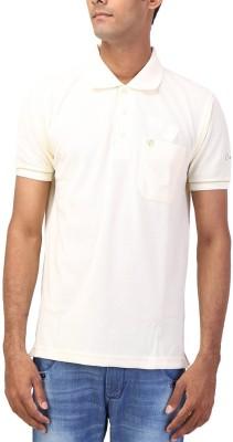 CNC Solid Men's Flap Collar Neck T-Shirt