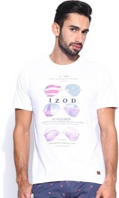 IZOD Printed Men's Round Neck T-Shirt