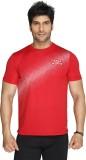 Aquamagica Printed Men's Round Neck Red,...