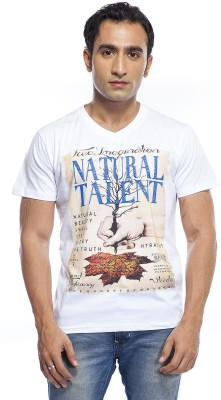 Array Printed Men's V-neck T-Shirt