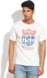 Russell Athletic Printed Men's Round Nec...
