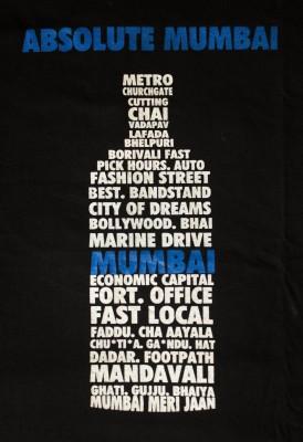 Marzzi Graphic Print, Printed Men's Round Neck Black T-Shirt