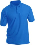 Bainsons Solid Men's Polo Neck Light Blu...