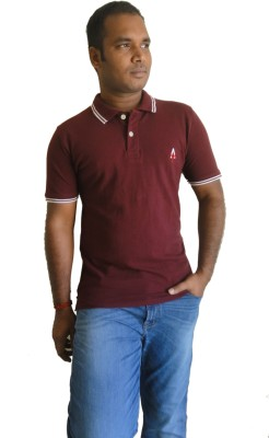 Appositely Yourz Solid Men's Polo Neck T-Shirt