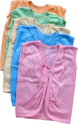 Mahadhi Solid Baby Boy's Henley Multicolor T-Shirt