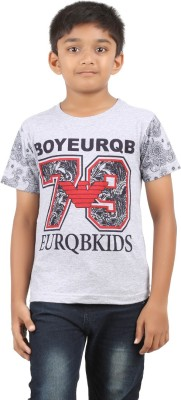 Jack43 Printed Boy's Round Neck T-Shirt