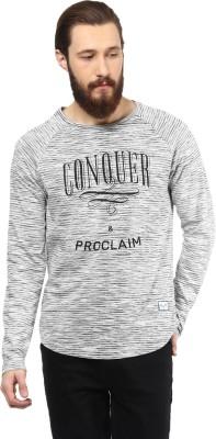Atorse Solid Men's Round Neck T-Shirt