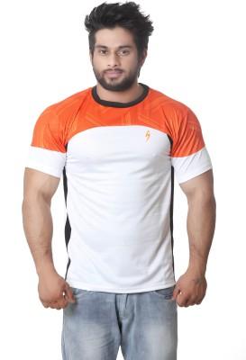 Stylar Graphic Print Men's Round Neck White T-Shirt