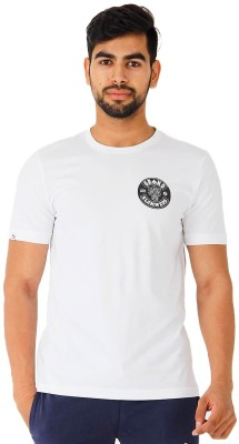 Puma Printed Men's Round Neck White T-Shirt