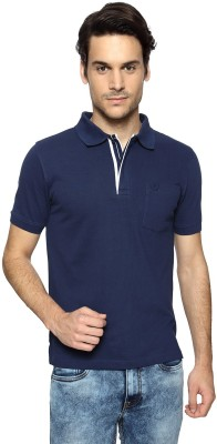 Van Heusen Solid Men's Polo Neck T-Shirt