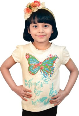 TSG Breeze Printed Girl's Round Neck T-Shirt