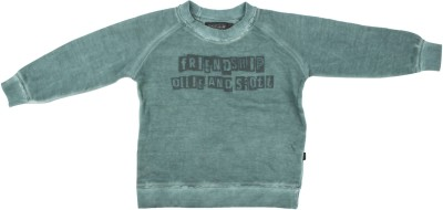 Parv Collections Printed Boy,s Round Neck Light Blue T-Shirt