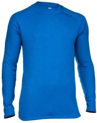 Quechua Solid Men's Round Neck Blue T-Shirt