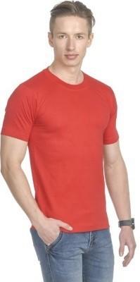 LF Solid Men's Round Neck T-Shirt