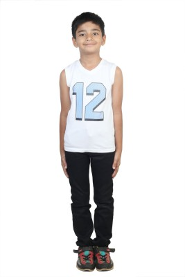 STOP by Shoppers Stop Printed Boy,s Round Neck T-Shirt
