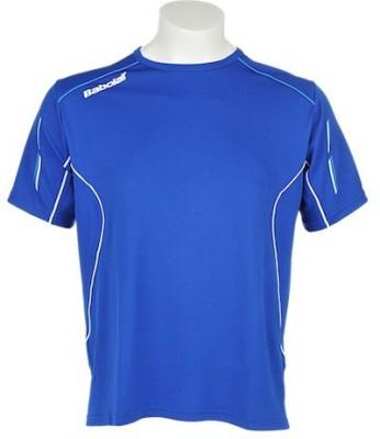 Babolat Solid Men's Round Neck T-Shirt