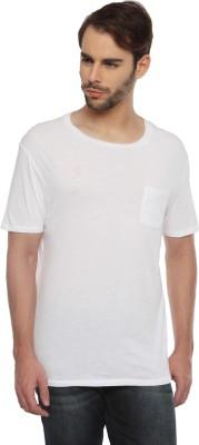 Gant Solid Men's Round Neck White T-Shirt