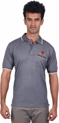 libey Embroidered Men's Polo Multicolor T-Shirt