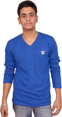 Plus Store Solid Men's V-neck T-Shirt