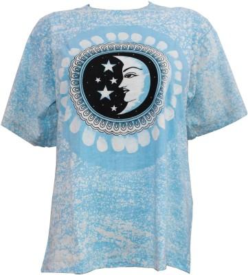 Odishabazaar Printed Boy,s, Girl's Round Neck T-Shirt