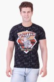 Family Guy Graphic Print Men's Round Nec...