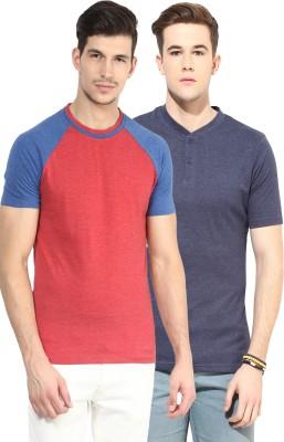 Yellow Submarine Solid Men,s Round Neck T-Shirt