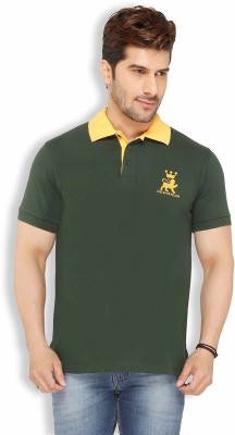 Live In Solid Men's Polo Green T-Shirt
