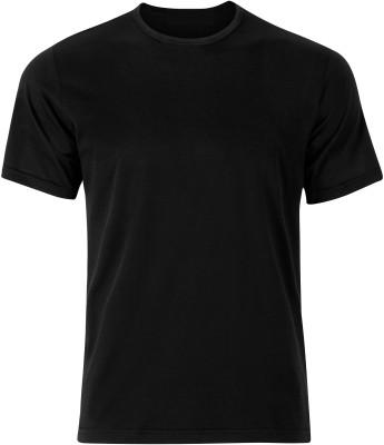 Shukrana Textiles Solid Men's Round Neck T-Shirt