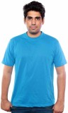 Golden valley Solid Men's Round Neck Blu...