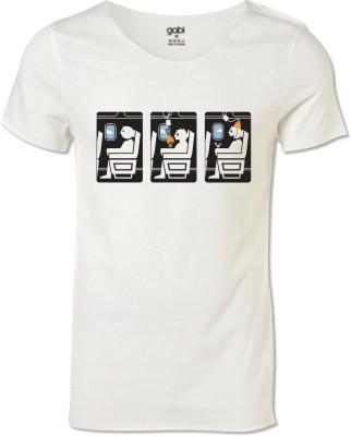 Gabi Printed Men's Round Neck T-Shirt