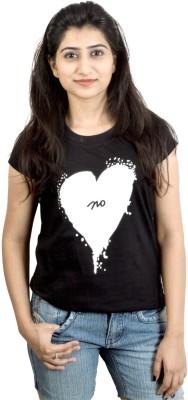 Eeia Printed Women's Round Neck T-Shirt