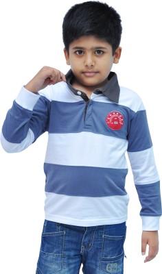 Bio Kid Striped Boy's Polo Multicolor T-Shirt