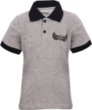 Dreamszone Embroidered Boy's Polo Neck T...