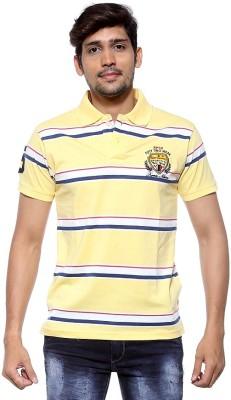Sports 52 Wear Striped Men's Polo Neck T-Shirt