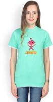 Campus Sutra Solid Women's Round Neck Green T-Shirt best price on Flipkart @ Rs. 543