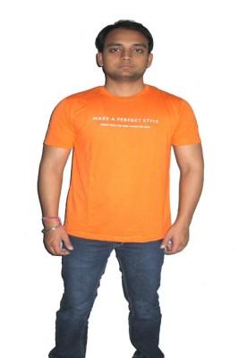 ORKO Solid Boy's Round Neck T-Shirt