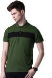 WROGN Solid Men's Polo Neck Multicolor T...
