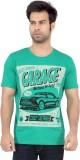 Cod Jeans Printed Men's Round Neck Green...