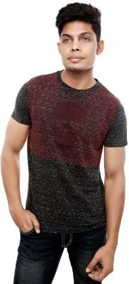 Viral Lifestyle Printed Men's Round Neck Black T-Shirt