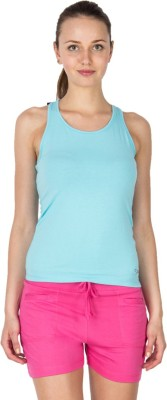Lovable Solid Women's Round Neck T-Shirt