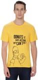 Simpsons Graphic Print Men's Round Neck ...